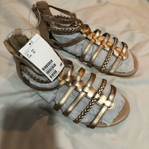 Brand new with tags rose gold gorgeous sandals